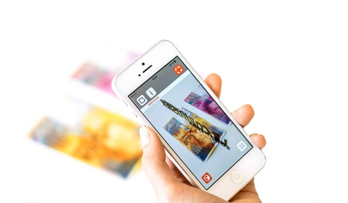 Augmented Reality App Bank Raiffeisen