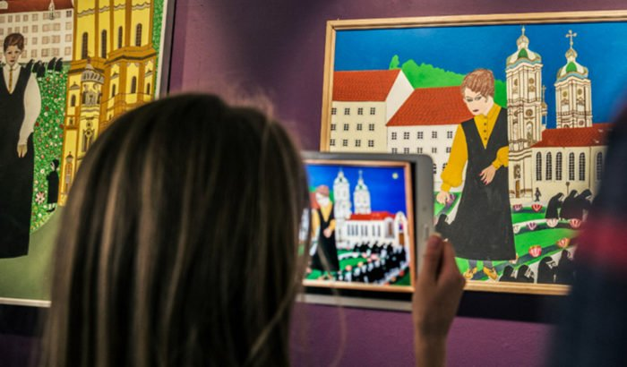 Museum Ausstellung Augmented Reality