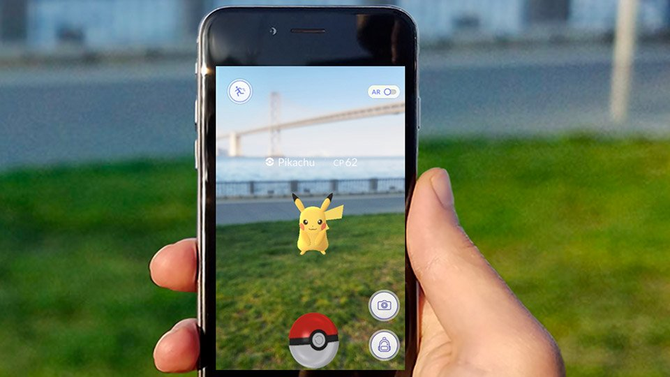 PokemonGo Augmented Reality