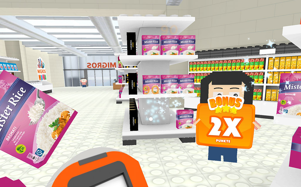 Migros VR Game