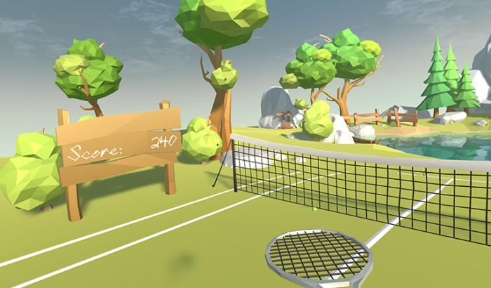 Sensoryx VR Tennis Game