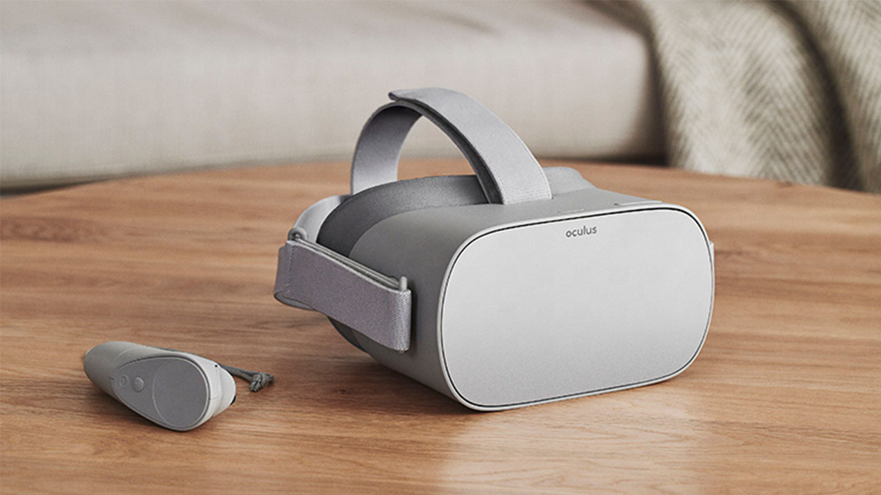 Oculus Go Brille mit Controller für Virtual Reality
