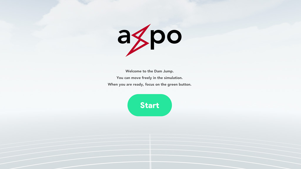 Axpo Virtual Reality Intro Screen