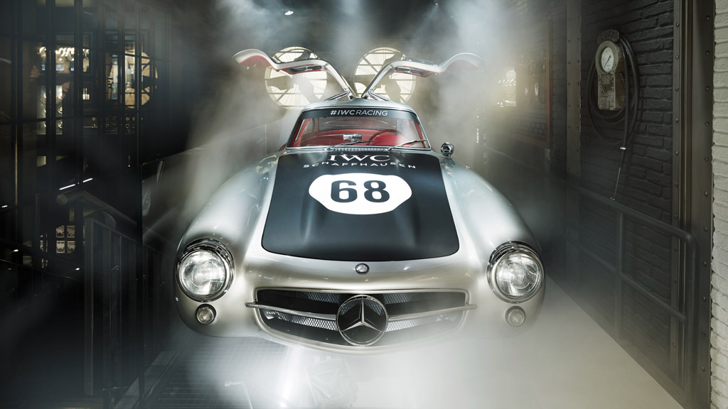 Mercedes 300 SL IWC Racing Car